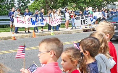 """11th Annual """"Troopers Assisting Troops"""" Wounded Warrior Parade at Manasquan Elementary School"""