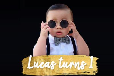 Lucas is 1 12/3/18