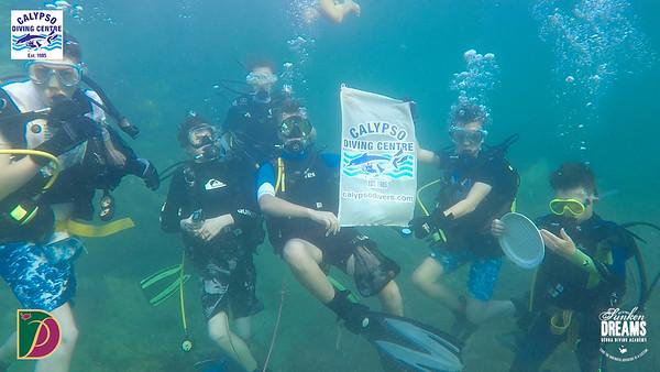 Diving against Debris with Sharklab, Calypso Divers, Nautical Marine Malta