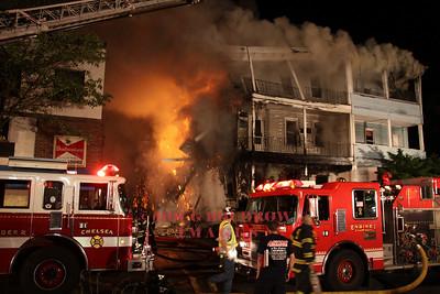 Everett, MA - 3rd Alarm, 17 Bow Street, 5-24-10