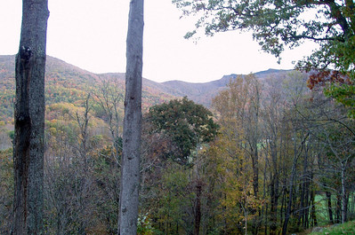 2009 Autumn Dawn on the mountain