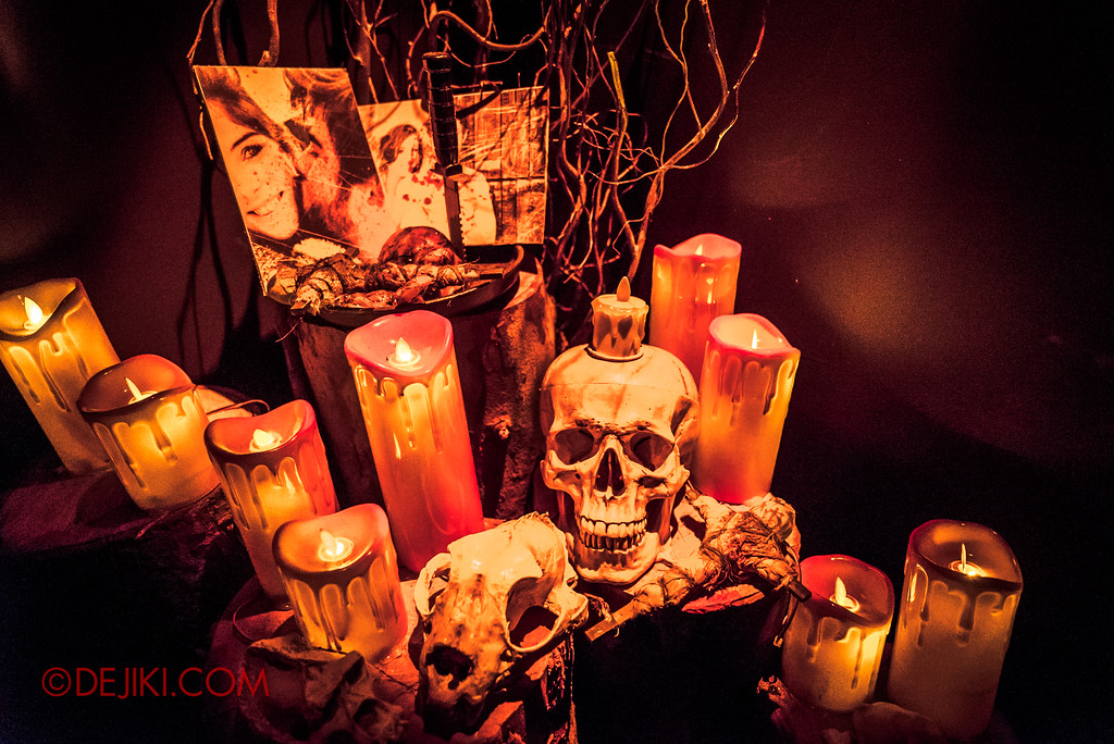 Halloween Horror Nights 7 - HEX haunted house / A desire for one's heart