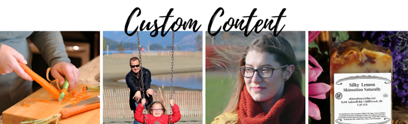 Custom Content Photography
