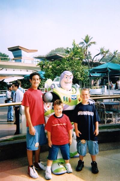 2001/06 - Disneyland, Anaheim