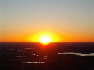 Mount Sanitas Equinox Sunrise