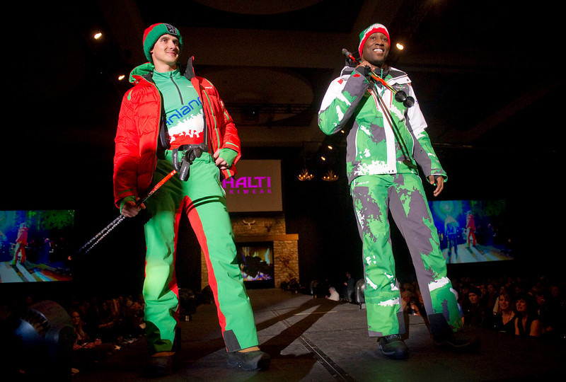 . Ski gear from Halti Skiwear as the SIA Snow Show hosted its 2013 Snow Fashion & Trends Show at the Colorado Convention Center  in downtown Denver  on Wednesday, January 30, 2013.  (Photo By Cyrus McCrimmon / The Denver Post)