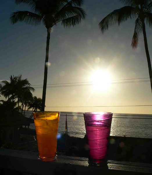 Our sunset cocktails