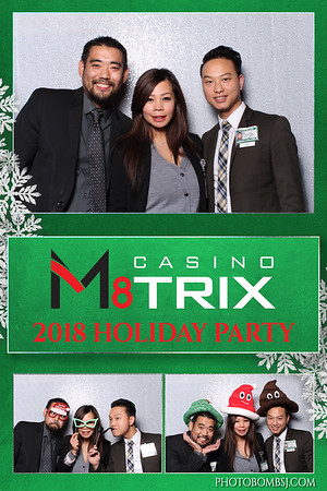 Casino M8trix 2018 Holiday Party