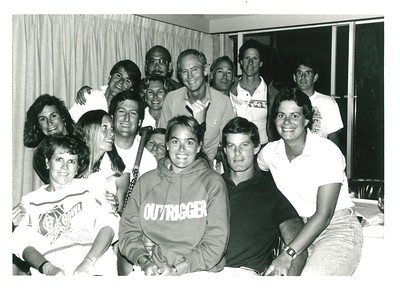 1987 Canoe Racing Committee, Coaches