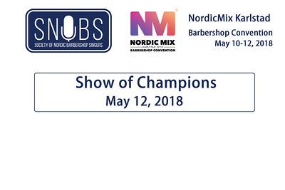 2018-0512 SNOBS -Saturday -show