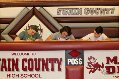 Swain County HS Signing Day, 2-7-18