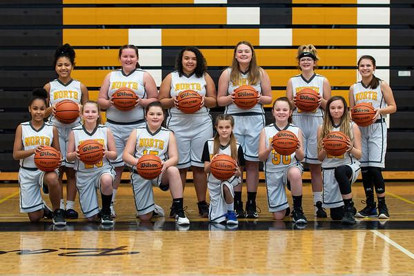2021-01-14 - Sullivan North Middle Girls Basketball Team Photos