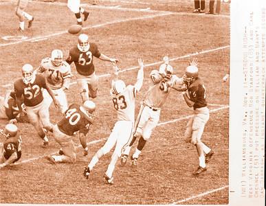 Athletic Publications Copies Football Action April 16 1968