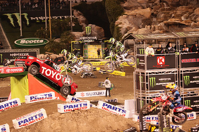 2011 Anaheim Supercross Jan 9