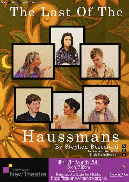 The Last of the Haussmans poster