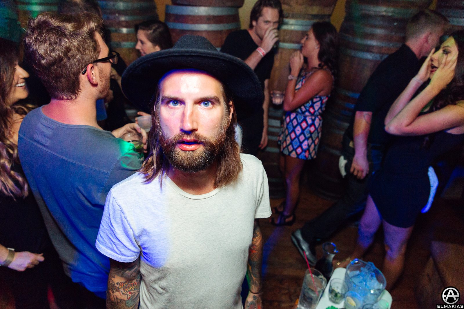 Keith Buckley of Every Time I Die at the APMAs 2015 by Adam Elmakias