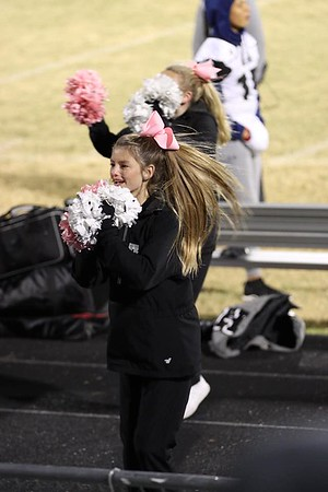 HHS Cheerleaders, 10/23/2020