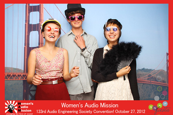 Women's Audio Mission @ 111 Minna 10.27.12