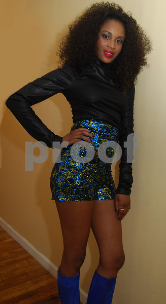 Tanise Francis CEO of Fabric Twinz Debute 2 16 2012 NYC