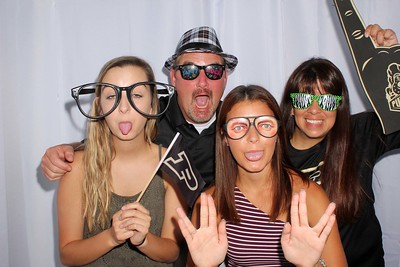 Hannah's Grad Party Photo Booth