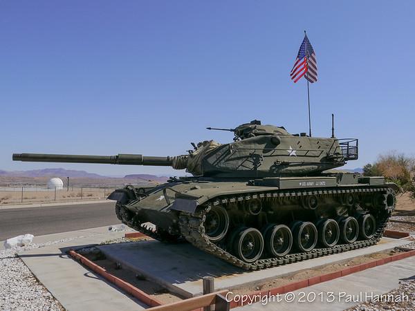 CA Veterans Home - Barstow, CA - M60A3