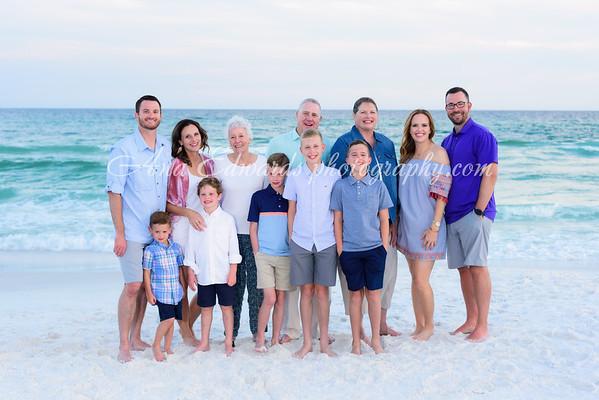 The Morgan family 2021  |  Destin