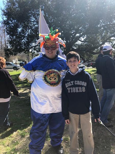 Mardi Gras Senior Parade 2/21/2020