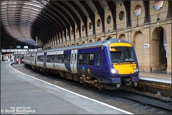 Class 170 (Turbostar): Northern (Arriva Rail North Limited)