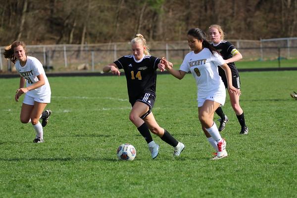 Soccer Girls Varsity vs Hackett - KCHS 4/22/19