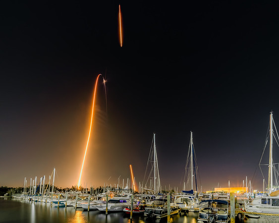 Launches from the Space Coast