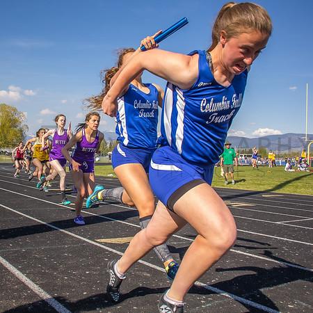 '15 Top Ten Meet - 4x100m relay