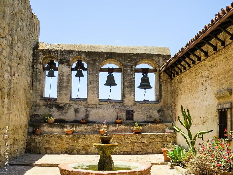 The Mission in San Juan Capistrano