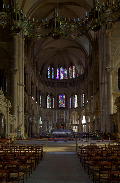 Reims, Saint-Remi Basilica Choir