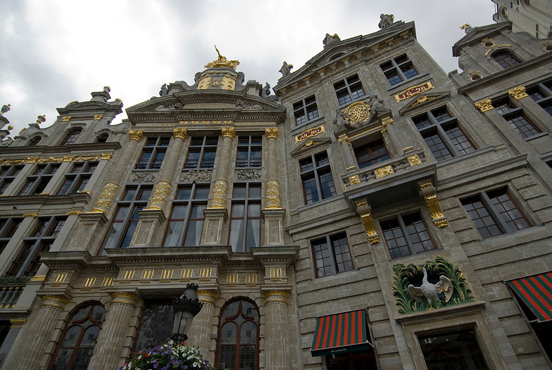 Brussels Grand Palace Building in Belgium