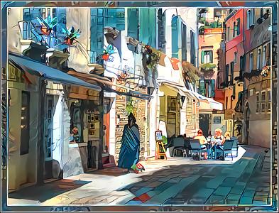 Venice New Dreams - Watercolors Fantasy