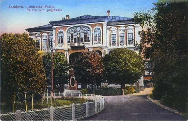 Konak, rezidencija bosanskih poglavara, izgradjen 1869.godine.