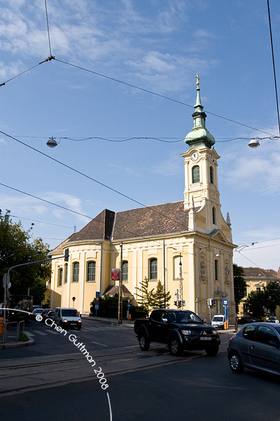 Local church at Buda.
