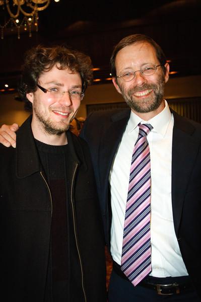 Dima Ostrovsky and Moshe Feiglin
