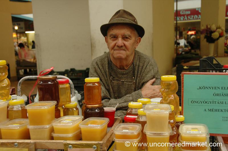 Honey Man, Lehal Market - Budapest, Hungary