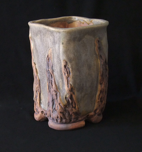 """#699 4"""" rounded square, 6 1/2"""" deep, 7 1/2"""" tall"""