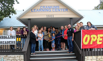 Craniums Learning Center Ribbon Cutting October 22, 2018