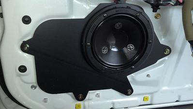 2000 Lexus GS speaker Front Speaker Installation - USA