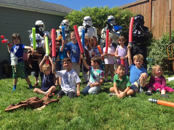 Oliver's 6th Birthday - SE Portland - May 2016