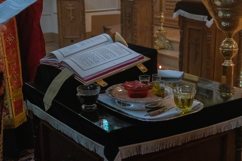 Holy Thursday Matins & Annointing 2019