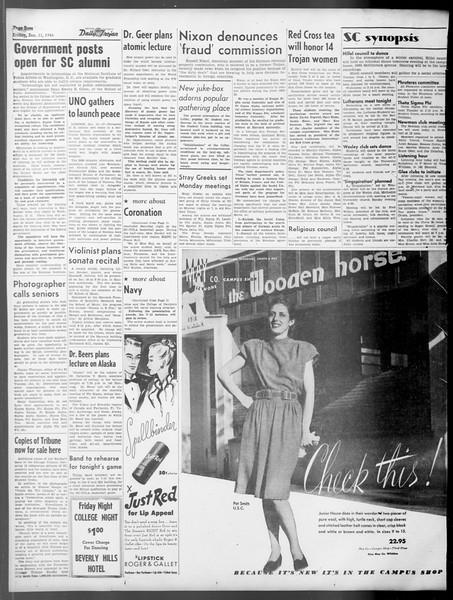 Daily Trojan, Vol. 37, No. 47, January 11, 1946