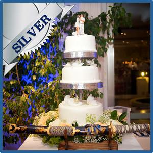 42103 Wedding cake Silver