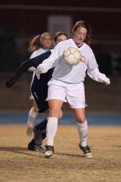 Tupelo girls vs. Olive Branch Soccer