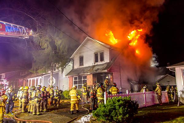 Rutherford NJ 3rd alarm, 12 Walnut St. 12-07-19