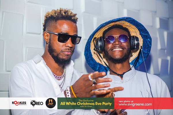 The Exclusive All White Christmas Eve Party with DJ Oreo