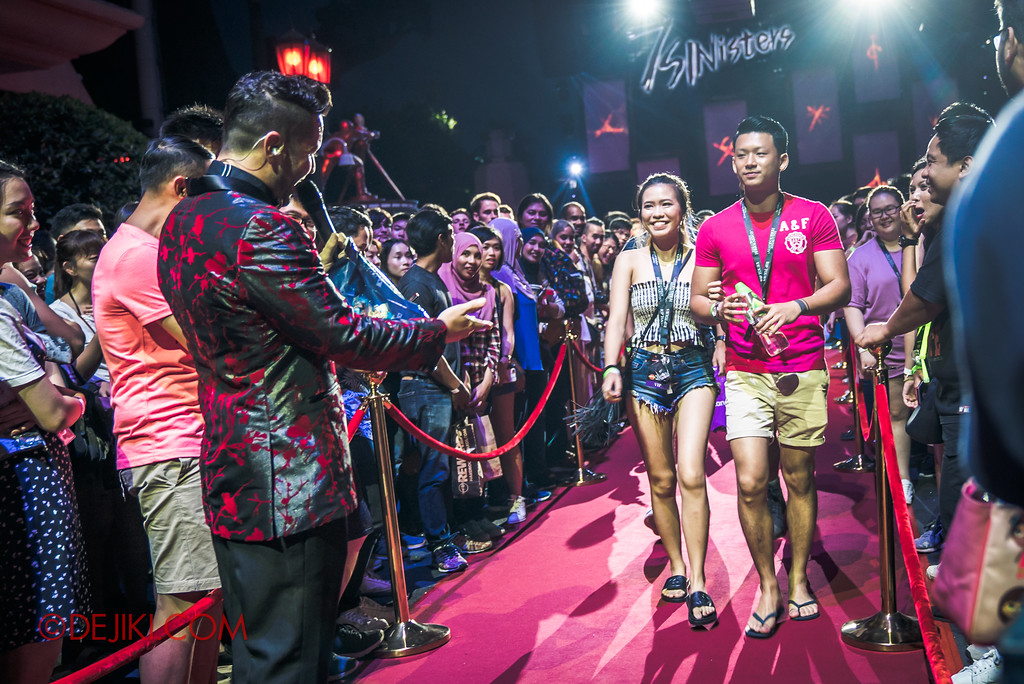 Halloween Horror Nights 7 Singapore - RIP Tour Review / Walk on the red carpet 2